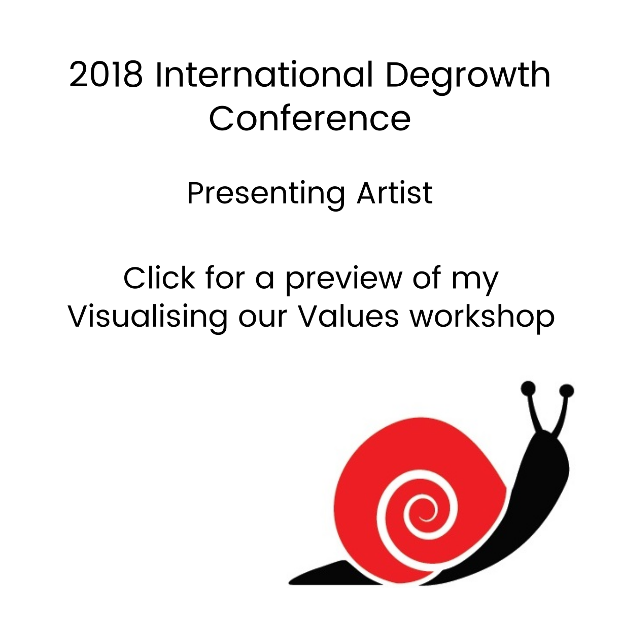 2018 6th degrowth conference