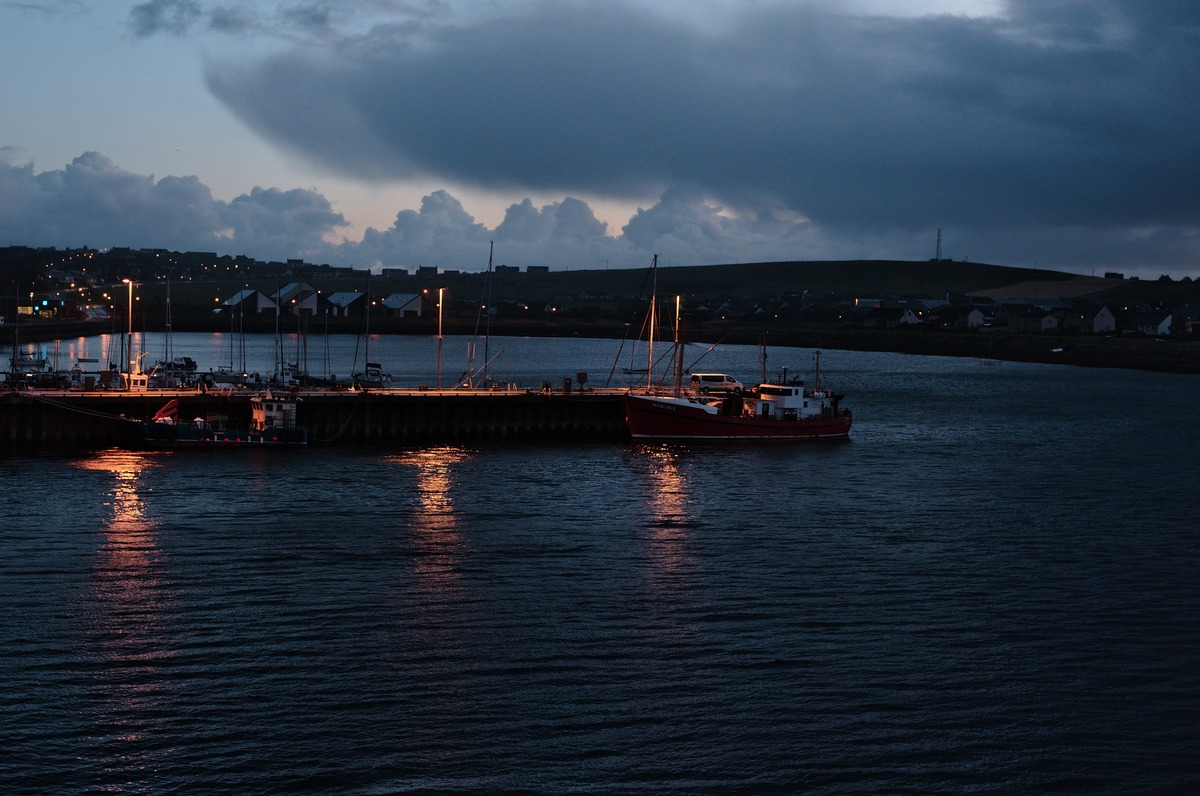 Stromness Scrabster ferry