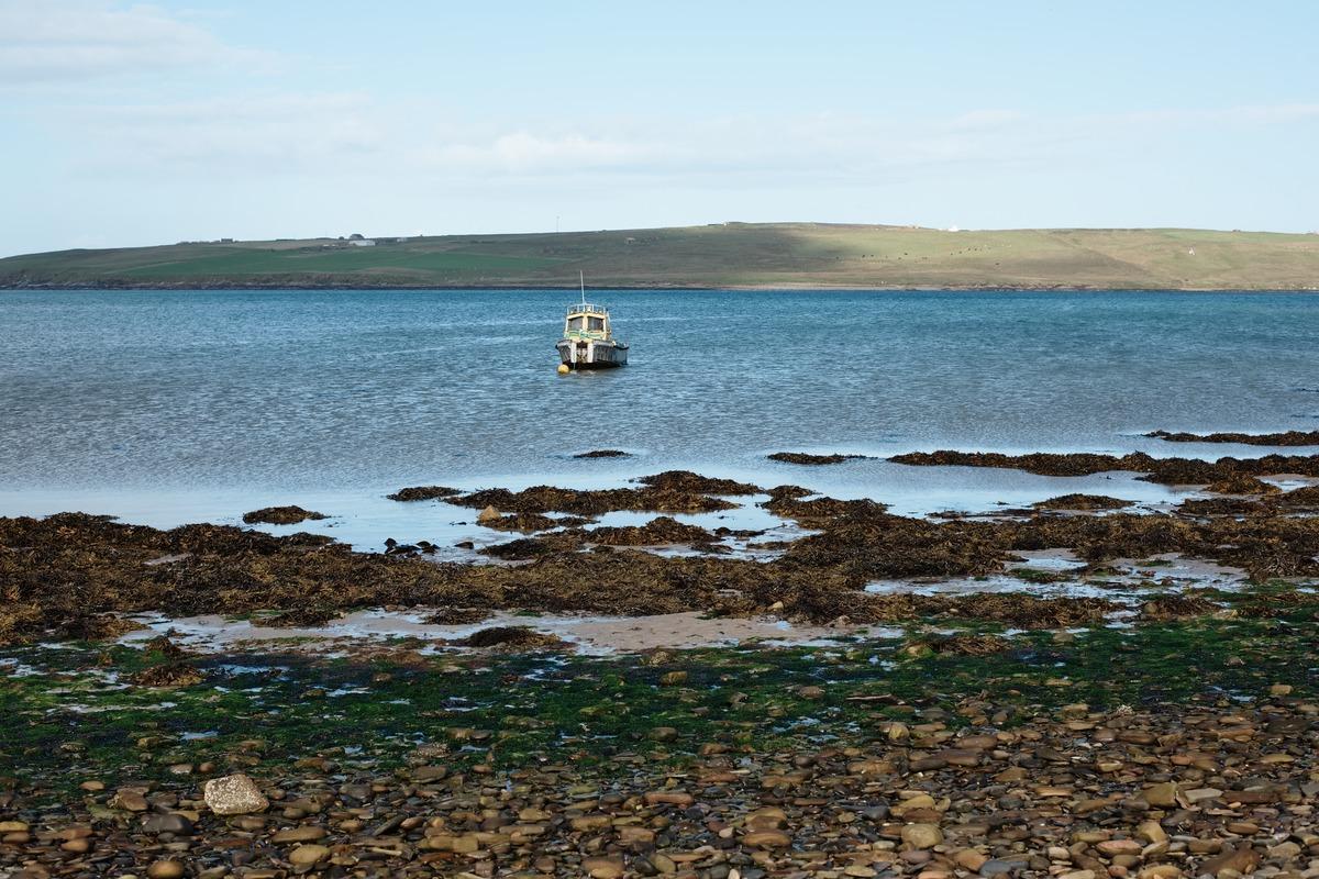 boat coast Orkney